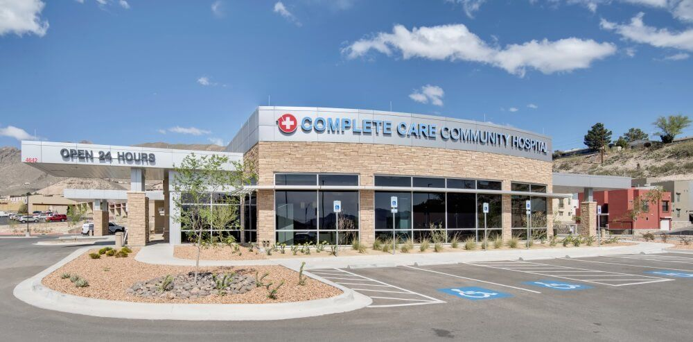 Complete Care Community Hospital | Diversified Interiors