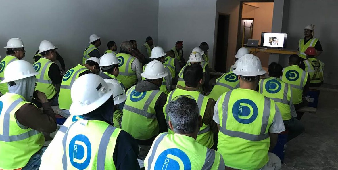 Worker Safety - Diversified Interiors